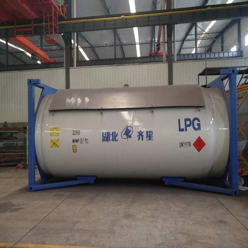 30英尺环氧乙烷罐箱T50罐箱出口认证