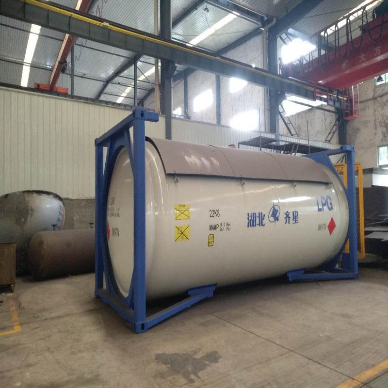 lpg气体罐箱生产厂家设计参数