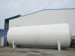 120立方液化气储罐完工等待出口