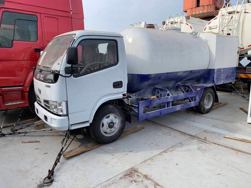 5m3液化气加气车